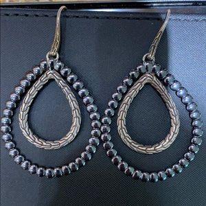 John Hardy Double Drop Earrings